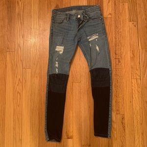 BlankNYC multi-color jeans